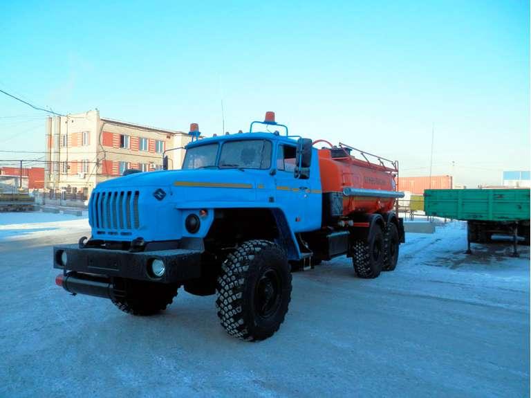 Автотопливозаправщик АТЗ-10 Урал 4320