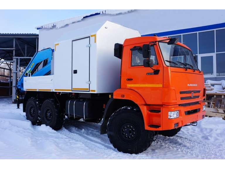 АРОК с КМУ на шасси КАМАЗ-43118