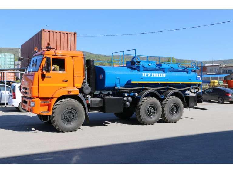 Автоцистерна АЦН-10 (техвода) на шасси КАМАЗ 43118
