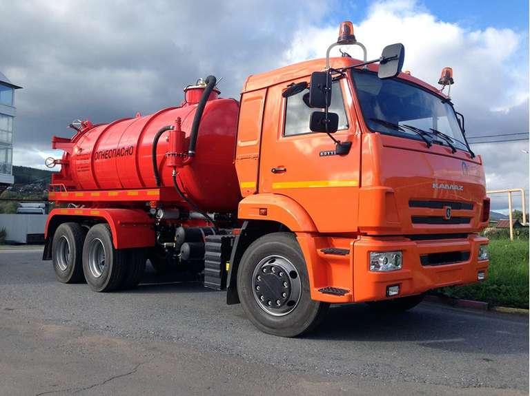 АКН-10 на шасси КАМАЗ 65115