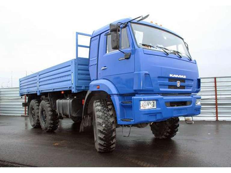 Бортовой автомобиль КАМАЗ 43118