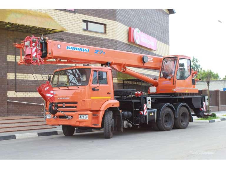 Автокран КС-55713-1К1В на шасси КАМАЗ-65115