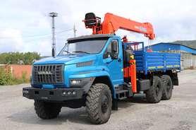 Бортовой Урал NEXT 4320-6952-72Е5Г38 с КМУ Kanglim KS2057