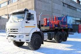 Цементировочный агрегат ЦА-320 на шасси КАМАЗ-43118-50