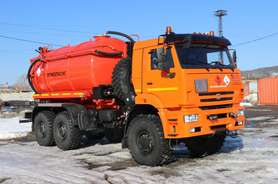 Автоцистерна АКНС-13 на шасси КАМАЗ 65224