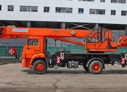 Автокран КС-45719-8К на шасси КАМАЗ 53605