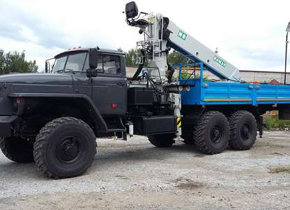 Бортовой автомобиль Урал 4320 с КМУ ИФ-300
