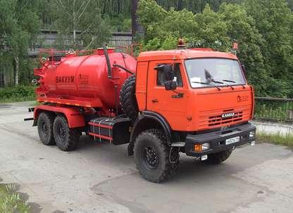 Автоцистерна АКН-10ОД на шасси КАМАЗ 43118-10