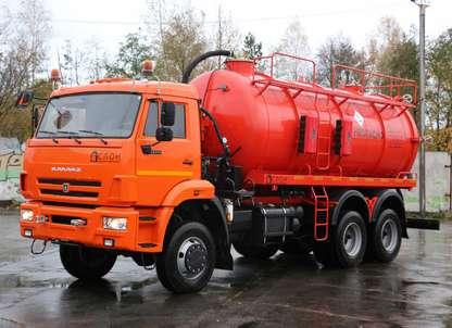 Автоцистерна АКН-15ОД НА ШАССИ КАМАЗ 65111