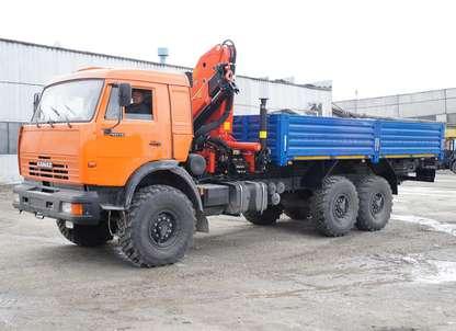 Бортовой автомобиль КАМАЗ 43118 с КМУ Palfinger