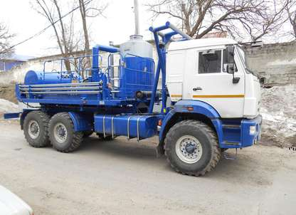 Агрегат депарафинизации скважин АДПМ на шасси КАМАЗ 43118