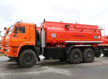 Автоцистерна АЦ-18 Камаз 65224