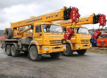 Автокран КС 55713-5В на шасси КАМАЗ 43118
