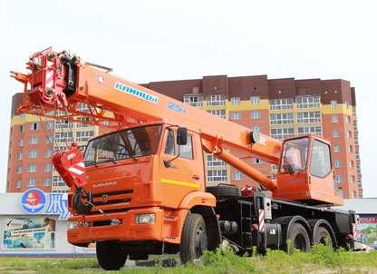 Автокран КС-55713-1К-1 на шасси КАМАЗ 65115