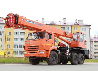 Автокран КС-55713-5К-1 на шасси КАМАЗ-43118