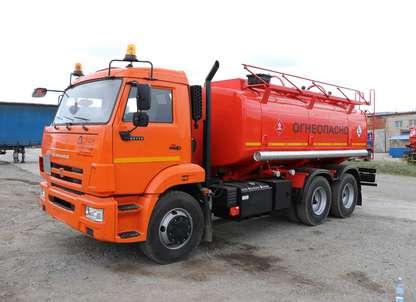 Автотопливозаправщик АТЗ-14 Камаз 65115