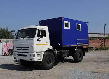 АИС на шасси КАМАЗ 43502