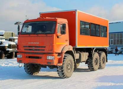 Вахтовый автобус КАМАЗ 43118