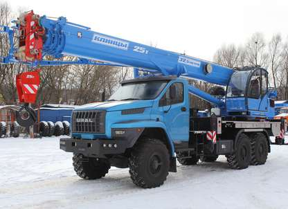Автокран КС-55713-3К-4В на шасси Урал-4320 NEXT