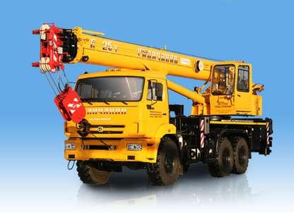 Автокран КС-55713-5В-4 «Галичанин» овоид на шасси КАМАЗ-43118
