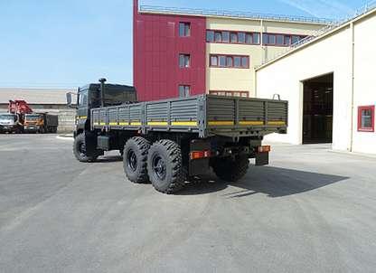 Бортовой Урал 4320 УДЛ бескапотный