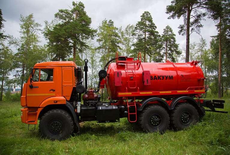 Автоцистерна АКН-10ОД на шасси КАМАЗ 43118-46