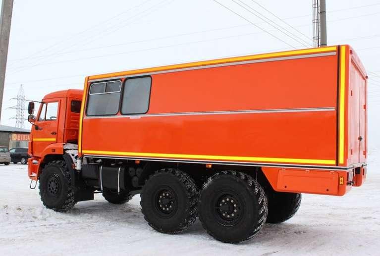 Грузопассажирский автомобиль НЕФАЗ 4208-410-14