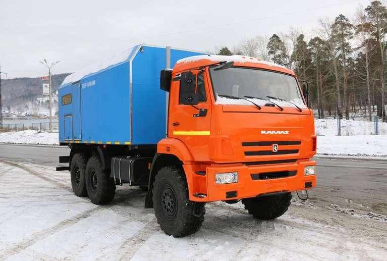 ППУА 1600/100 КАМАЗ 43118