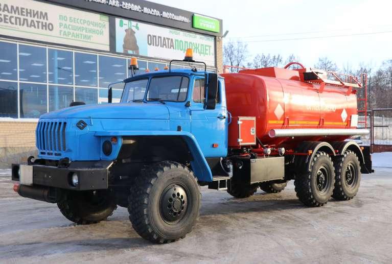 Автотопливозаправщик АТЗ-12 на шасси Урал 4320