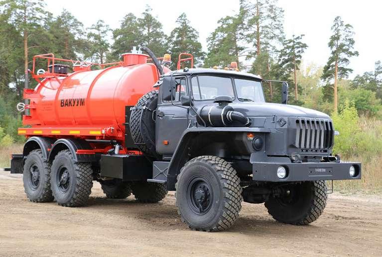 МВ-10 на шасси УРАЛ-4320