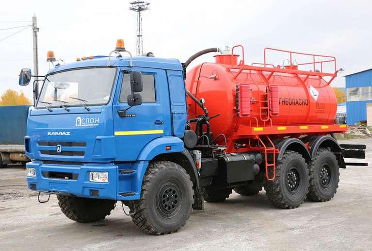 АКН-10 на шасси КАМАЗ 43118-46