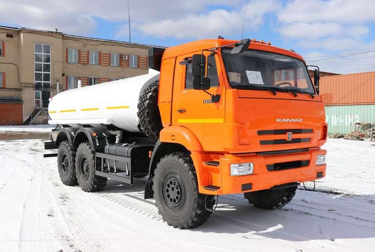 АЦПТ-9,5 на шасси КАМАЗ 43118