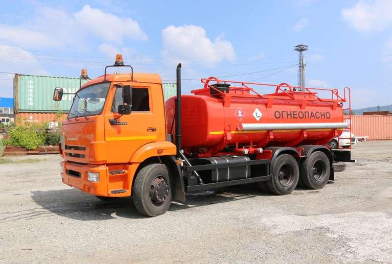 Автоцистерна АЦ-12 Камаз 65115