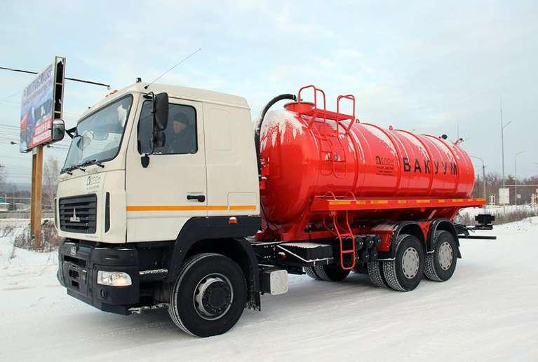 МВ-19 на шасси МАЗ 6312В5