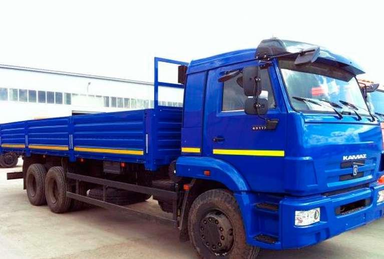 Бортовой автомобиль КАМАЗ 65117