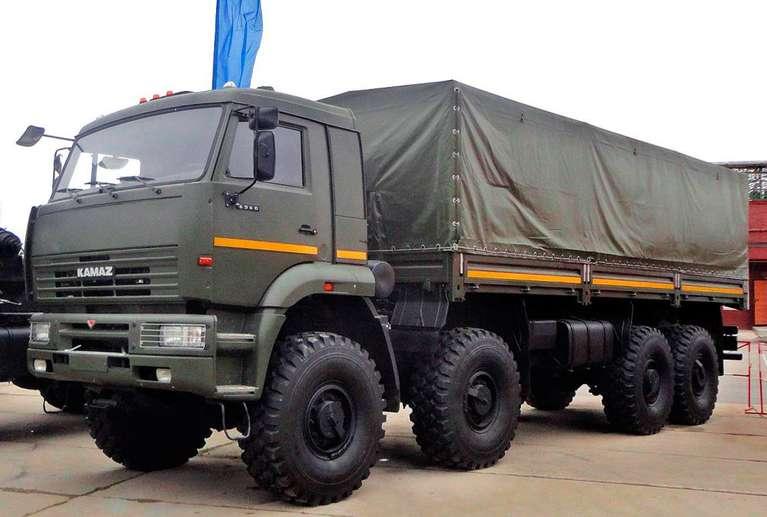 Бортовой автомобиль КАМАЗ 6560