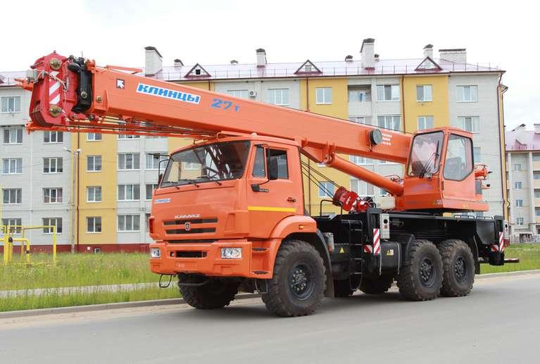 Автокран КС-55713-5К-1В на шасси КАМАЗ-43118