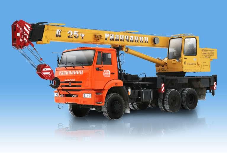 Автокран КС-55713-4 «Галичанин» на шасси КАМАЗ-65111