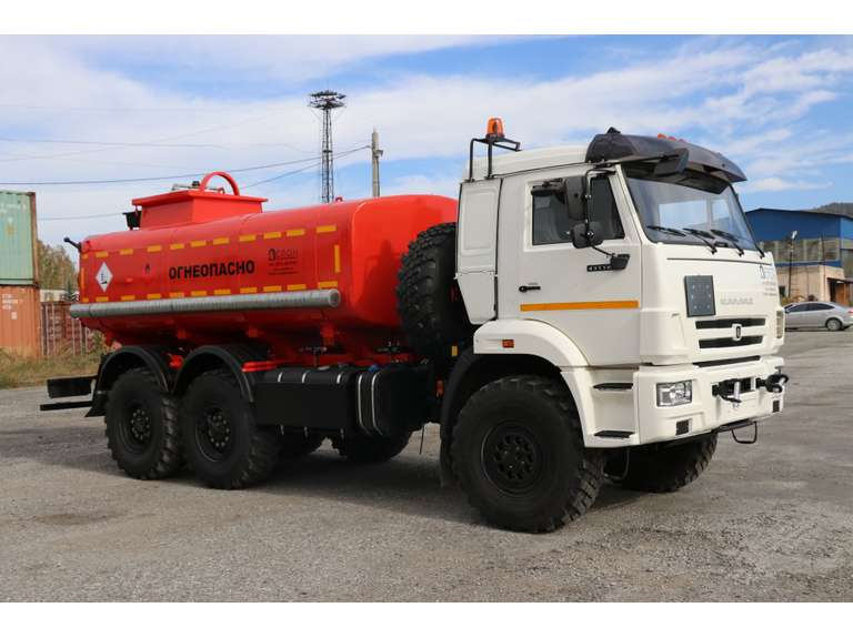 Автоцистерна АЦН-12 на шасси КАМАЗ 43118-50