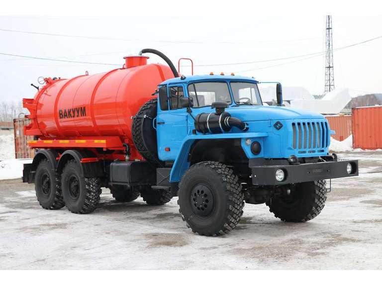 Вакуумная машина МВ-12ОД на шасси УРАЛ 4320-60Е5
