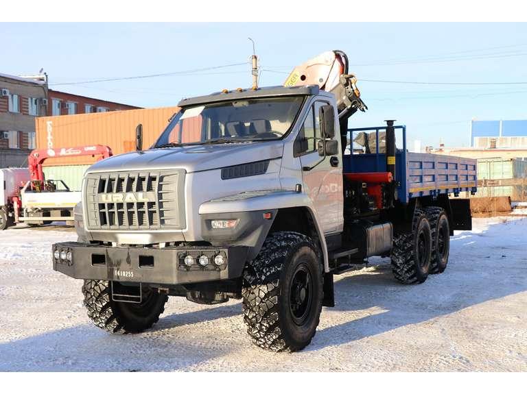Бортовой Урал NEXT 4320-6952-72Е5Г38 с КМУ Palfinger PK18500A