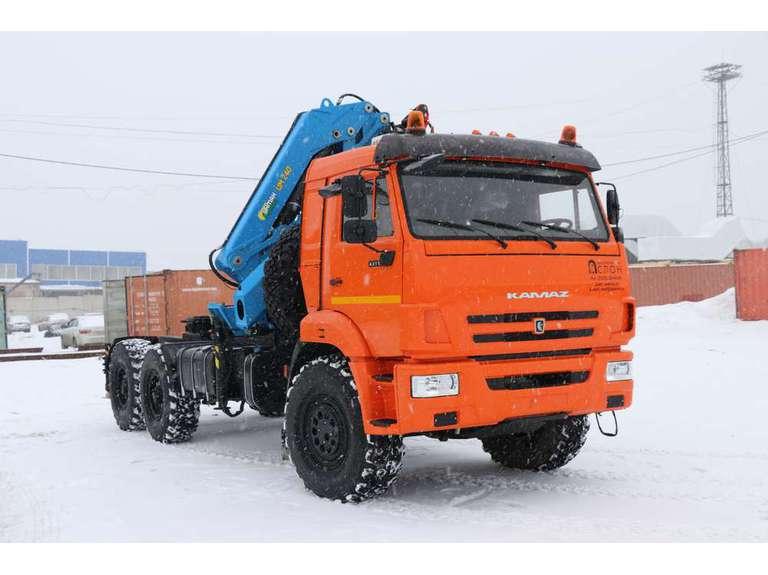 Седельный тягач Камаз 43118-50  с КМУ ИМ-240-04