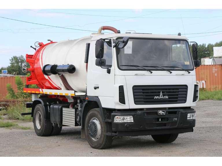 Вакуумная машина МВ-12ОД на шасси МАЗ 534025