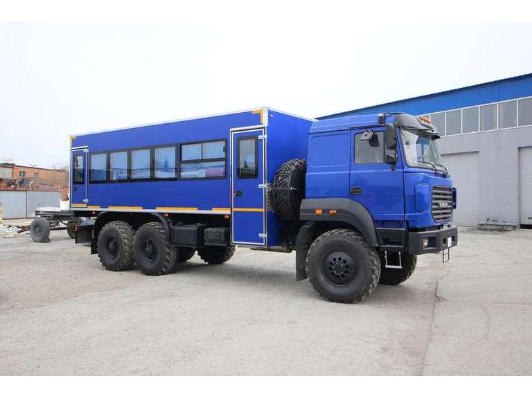 Вахтовый автобус Урал 4320-80М (28 мест)