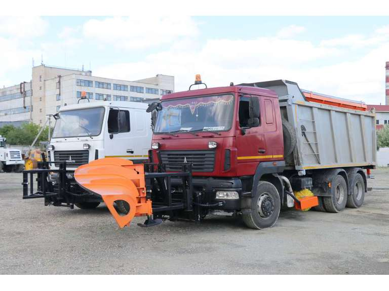 Комбинированная дорожная машина ВМКД на шасси МАЗ 6501B9
