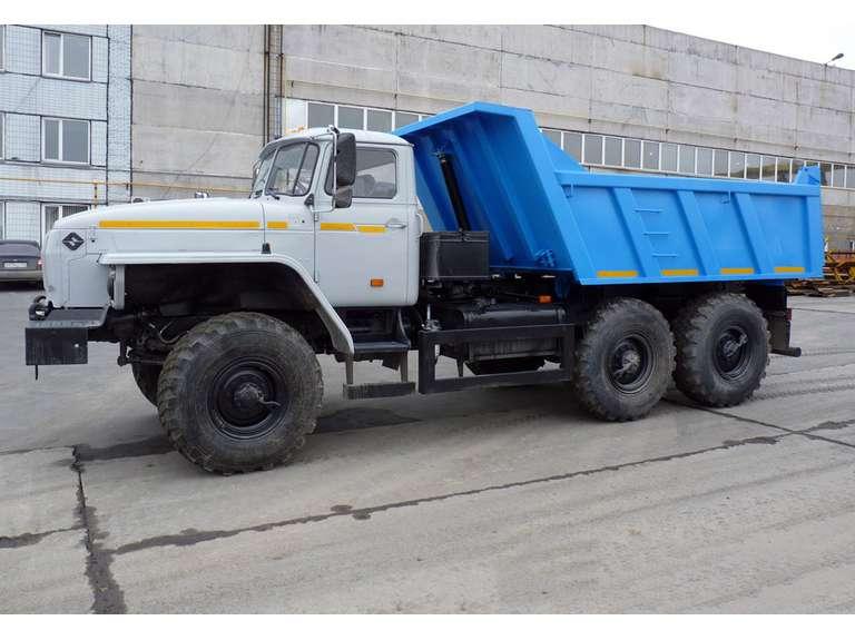 Самосвал Урал 55571-60Е5 (коробчатого типа)
