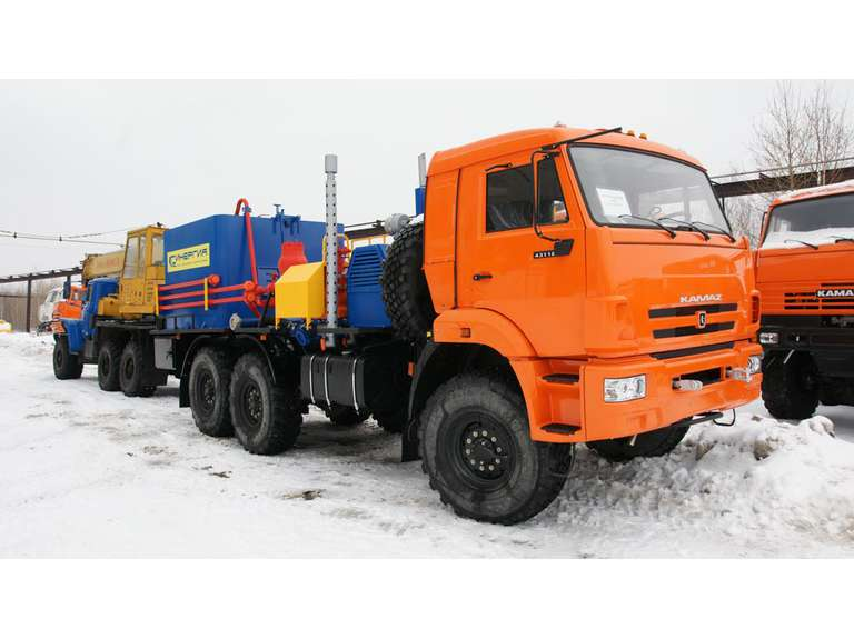 Агрегат цементировочный СИН35 на шасси КАМАЗ 43118
