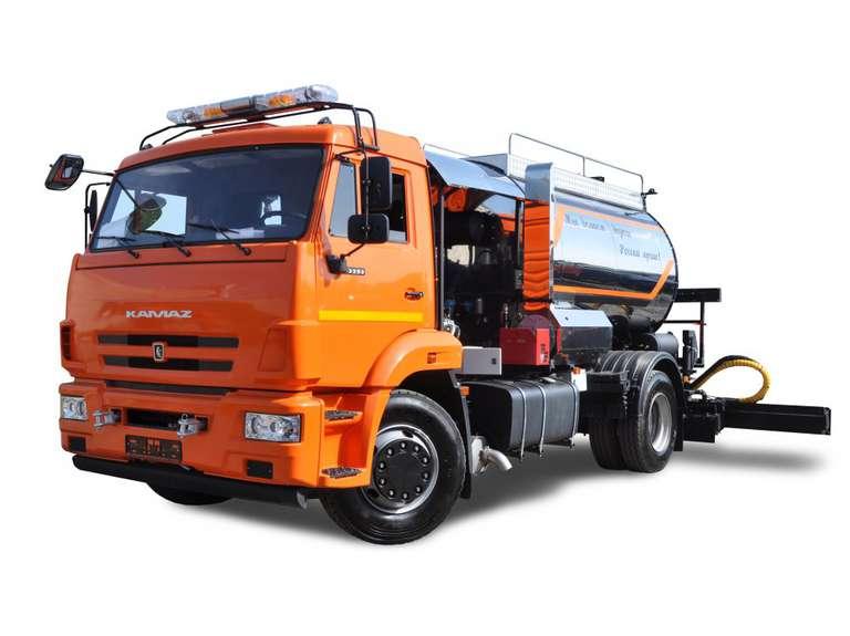 Автогудронатор АС-43253ЭМ на шасси КАМАЗ 43253
