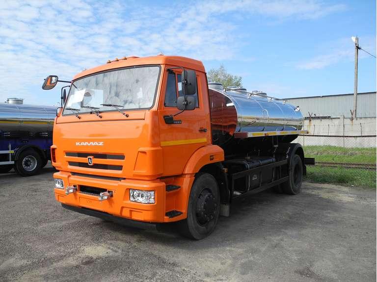 АЦПТ-7,5 на шасси КАМАЗ 43253