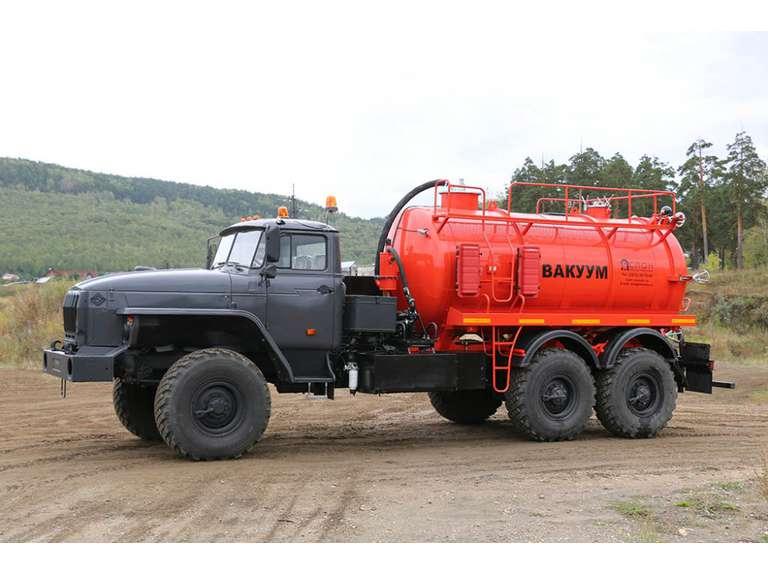 Автоцистерна АКН-10ОД на шасси УРАЛ-4320-60(70)
